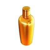 Contenitori dei cosmetici, imballare isolati su fondo bianco Fotografia Stock