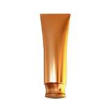Contenitori dei cosmetici, imballare isolati su fondo bianco Fotografia Stock Libera da Diritti