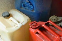 Contenitori del combustibile Immagini Stock