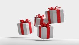 Contenitori di regali 3d-illustration Royalty Illustrazione gratis