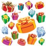 Contenitori di regalo Immagini Stock Libere da Diritti