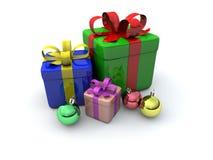Contenitori di regalo illustrazione di stock