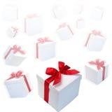Contenitori di regalo Immagine Stock Libera da Diritti