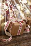 Contenitori di regalo fatti a mano Fotografie Stock Libere da Diritti