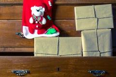 Contenitori di regalo per il Natale Immagine Stock
