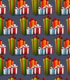 Contenitori di regalo per il partito Fotografie Stock