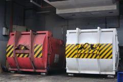 Contenitori industriali Fotografie Stock