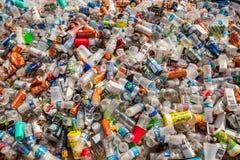 Contenitori riciclabili Fotografie Stock Libere da Diritti