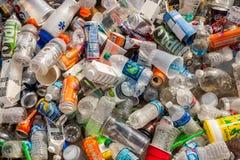 Contenitori riciclabili Immagini Stock