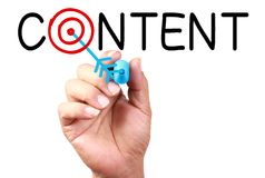 Content Concept Royalty Free Stock Image