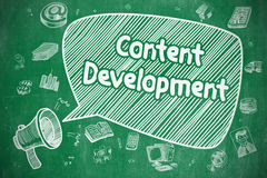 Content Development - Business Concept. Royalty Free Stock Image