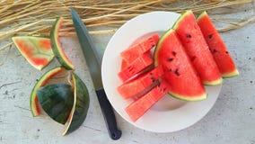 content fruktpomegranatered kärnar ur sommar Royaltyfria Foton