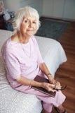 Content Grandmother Stock Photos