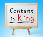 Content is King Stock Image