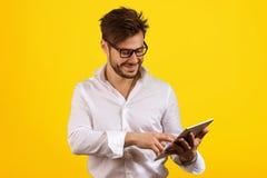 Free Content Man Enjoying Modern Tablet Royalty Free Stock Photo - 115391185