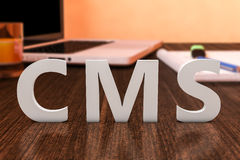 Content Management System Royalty Free Stock Photo