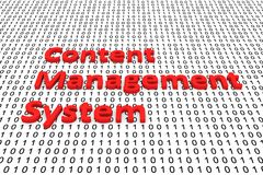 Content management system Royalty Free Stock Photography