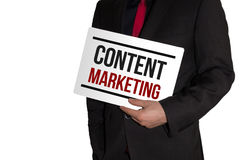 Content Marketing Royalty Free Stock Image