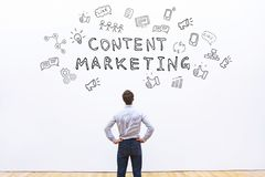 Content marketing. Business promotion concept Royalty Free Stock Photos