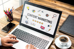 Content Marketing Concept Stock Images