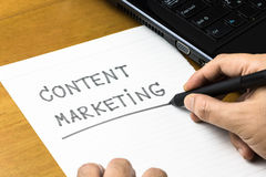 Content Marketing Royalty Free Stock Photos