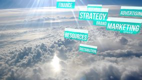 Content Marketing Strategy above the clouds