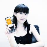 content mobilt köp Royaltyfria Foton