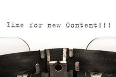 Content. Plan marketing cms meta concept web Royalty Free Stock Images