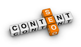 Content seo Stock Photo