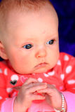 Contented Newborn Royalty Free Stock Image