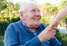 Contented Patient Stock Images