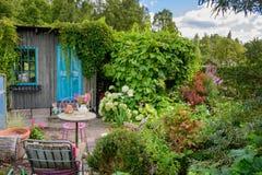 Conteplative-Garten Lizenzfreie Stockfotografie