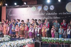 Contest of child cute Festival Thailand Royalty Free Stock Photography