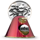 Contest Gumball Machine Random Winner Drawing Stock Photo