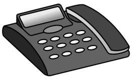 Contestador automático de teléfono Fotografía de archivo libre de regalías