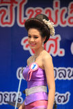 Contestant for Miss Songkran 2014 Royalty Free Stock Image