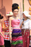 Contestant for Miss Songkran 2014 Royalty Free Stock Photo