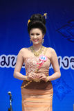 Contestant for Miss Songkran 2014 Stock Photo