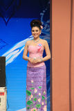 Contestant for Miss Songkran 2014 Royalty Free Stock Photography