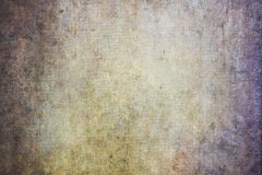 Contesti dipinti a mano robusti della tela Fotografia Stock