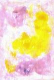 Contesto acquerello astratto artistico della pittura H Fotografia Stock Libera da Diritti