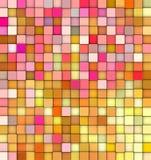 Contesto astratto di gradiente 3d nei colori al gusto di frutta Immagine Stock