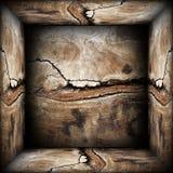 Contesto astratto di legno 3d Fotografia Stock