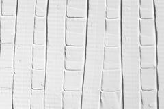 Contesto bianco di sollievo, struttura decorativa del gesso Fotografie Stock Libere da Diritti