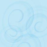 Contesto blu di turbine Onda astratta Illustrazione di vettore Immagine Stock Libera da Diritti
