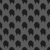 Contesto con i ratti su un fondo grigio illustrazione vettoriale