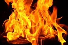 Contesto del fuoco Fotografie Stock