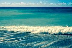Contesto dell'onda di oceano Fotografie Stock Libere da Diritti