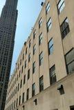 Contesto dell'orizzonte di Manhattan Fotografia Stock