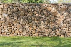 Contesto di fotografia della parete di pietra Fotografia Stock